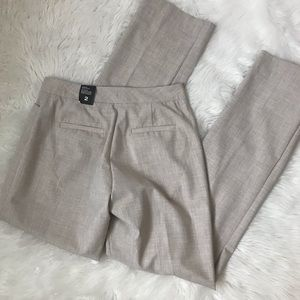 NWT The Limited Pants Lexie Straight Beige Tan 2